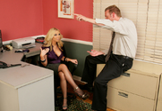 Dylan Riley & Mark Wood in Naughty Office - Sex Position 1