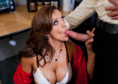 Francesca Le & Bill Bailey in Naughty Office - Centerfold