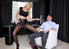 Gigi Allens & Seth Gamble in Naughty Office - Centerfold
