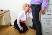 Jenna Ivory & Ryan Driller in Naughty Office - Sex Position 1