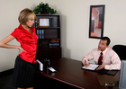 Jenny Hendrix & Tony DeSergio in Naughty Office - Sex Position 1