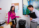Jessica Jaymes & Tony DeSergio in Naughty Office - Sex Position 1