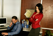Juelz Ventura & Rocco Reed in Naughty Office - Sex Position 1