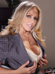 Julia Ann & Prince Yahshua in Naughty Office - Centerfold