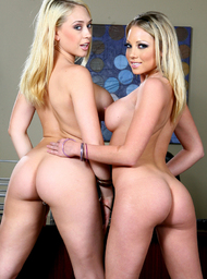 Shawna Lenee, Kagney Linn Karter & James Deen in Naughty Office - Centerfold