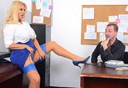 Karen Fisher & Jessy Jones  in Naughty Office - Sex Position 1