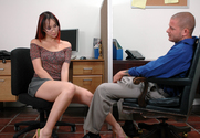 Katsuni & Scott Nails in Naughty Office - Sex Position 1