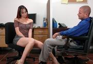 Katsuni & Scott Nails in Naughty Office story pic
