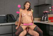 Kayla West  & Mr. Pete in Naughty Office - Sex Position 2