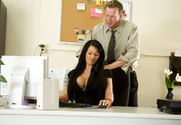 Kerry Louise & Mark Wood in Naughty Office - Sex Position 1