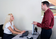 Krissy Lynn & Brad Hardy in Naughty Office