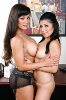 Lisa Ann starring in Bad Girlporn videos with American and Ass licking