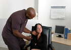 Melissa Lauren &  in Naughty Office - Sex Position 1