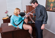 Mellanie Monroe & Charles Dera in Naughty Office story pic