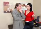 Mia Bangg & Evan Stone in Naughty Office - Sex Position 1