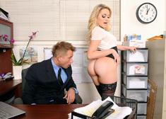 Mia Malkova & Bill Bailey in Naughty Office - Centerfold