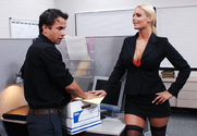Phoenix Marie & Alan Stafford in Naughty Office - Sex Position 1