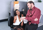 Priya Anjali Rai & Alec Knight in Naughty Office - Sex Position 1