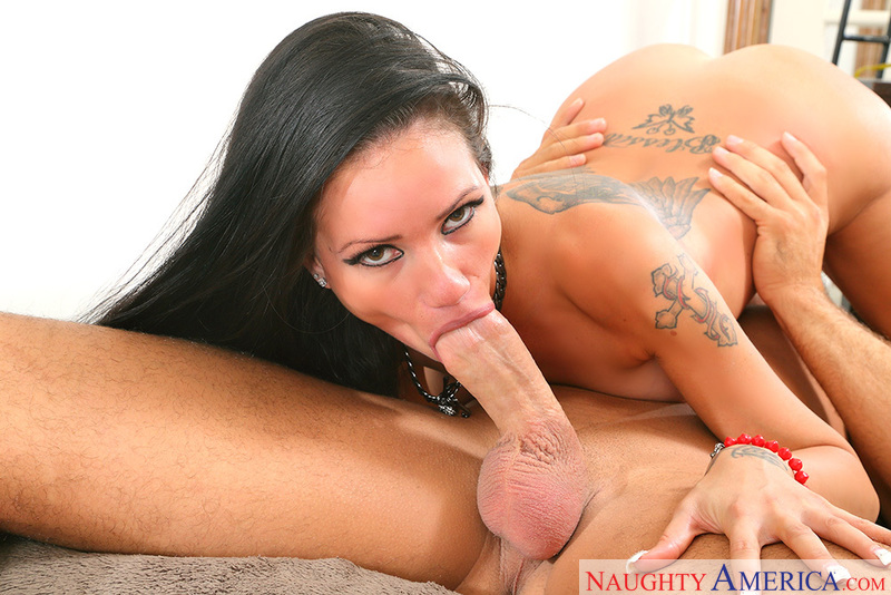 Porn star Raven Bay having sex