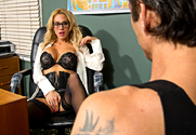 Sarah Jessie & Alan Stafford in Naughty Office story pic