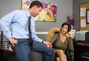Shay Fox & Seth Gamble in Naughty Office story pic