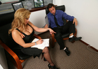Shyla Stylez & Alan Stafford in Naughty Office - Sex Position 1