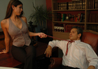 Shy Love &  in Naughty Office - Sex Position 1