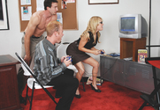 Sindee Jennings & Jenner & Jordan Ash in Naughty Office