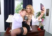 Skyla Novea & Levi Cash in Naughty Office