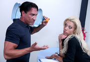 Tanya James & Marco Banderas in Naughty Office story pic