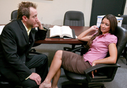 Ann Marie Rios & Will Powers in Naughty Office - Sex Position 1