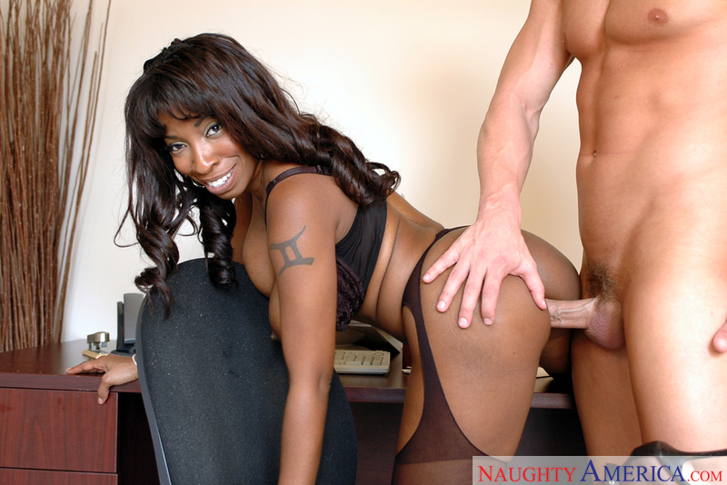 Vanessa blue interracial sex to annoying music 6