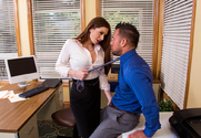 Veronica Vain & Johnny Castle in Naughty Office - Sex Position 1