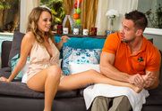 Alexis Adams & Johnny Castle in Naughty Rich Girls - Sex Position 1
