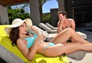 Lana Rhoades & Van Wylde in Naughty Rich Girls
