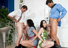 Rayveness & Alia Janine in Seduced by a cougar - Sex Position 1