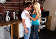 Ashlee Chambers & Joey Brass in Seduced by a Cougar - Sex Position 1