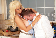 Brittany O'Neil & Scott Stone in Seduced By A Cougar story pic