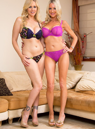 Emma Starr, Julia Ann & Tyler Nixon in Seduced by a cougar - Centerfold