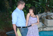 Kayla Synz & Chris Johnson in Seduced By A Cougar story pic