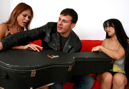 Monique Fuentes & Mason Storm & Anthony Rosano in Seduced By A Cougar story pic