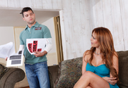 Monique Fuentes & Mikey Butders in Seduced by a cougar - Sex Position 1
