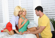 Nikita Von James, Tara Holiday & Preston Parker in Seduced by a cougar - Sex Position 1
