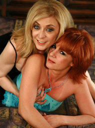 Nina Hartley, Calliste & Sebastian Silver in Seduced by a cougar - Centerfold