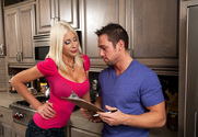Puma Swede & Johnny Castle in Seduced by a cougar - Sex Position 1