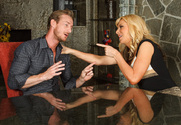 Sasha Sean  & Ryan Mclane in Seduced by a Cougar - Sex Position 1