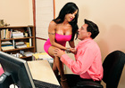 Viana Milian  & Marco Banderas in Seduced by a cougar - Sex Position 1