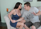 Maya Divine & Jerry in Seduced by a Cougar - Sex Position 1