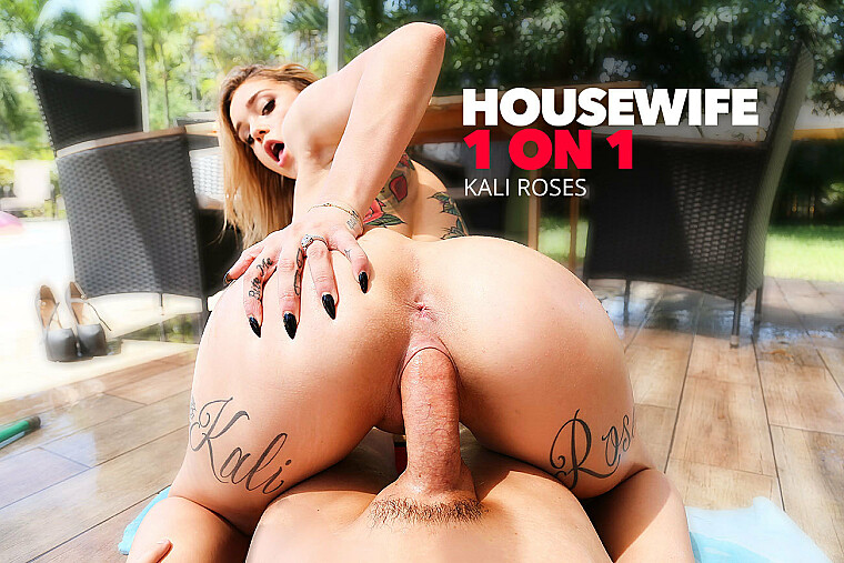 Hose Down Your Naked Horny Wife Kali Roses