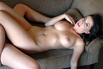 Penny Flame fucking in the living room with her piercings - Blowjob